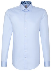 Jacques Britt Slim Uni Business Blauw