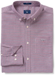 Gant The Oxford Check Mahonie Rood
