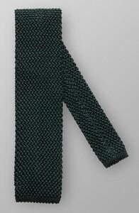 Eton Uni Knitted Silk Donker Groen Melange