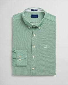 Gant Tech Prep Piqué Shirt Bladgroen