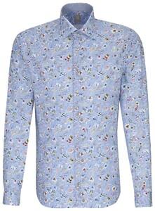 Jacques Britt Perfect Fit Floral Fantasy Pastel Blauw