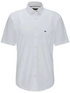 Fynch-Hatton New Barreé Shirt Wit
