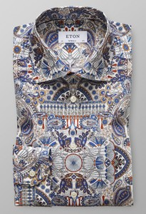 Eton Paisley Fantasy Signature Twill Multicolor