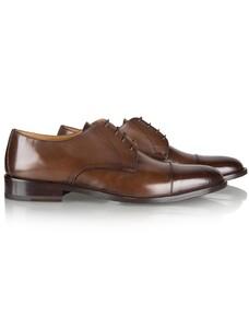 Cavallaro Napoli Franco Shoe Dark Brown Melange