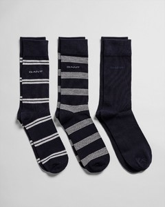 Gant 3Pack Mixed Socks Light Grey