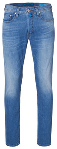 Pierre Cardin Lyon Tapered Futureflex Jeans Used Washed Licht Blauw