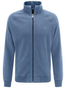 Fynch-Hatton Cardigan Zip Blauw