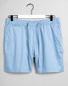 Gant Relaxed Logo Shorts Hamptons Blue