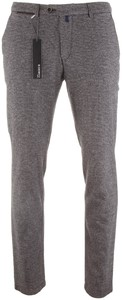 Gardeur Sonny-8 Slim-Fit Wool-Look Structure Mid Grey