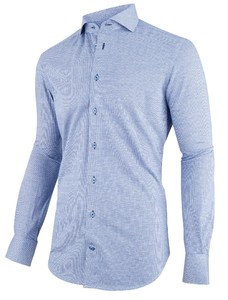 Cavallaro Napoli Givane Jersey Cotton Blauw