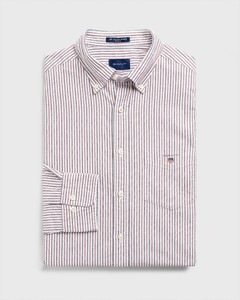 Gant The Oxford 2 Color Banker Mahonie Rood