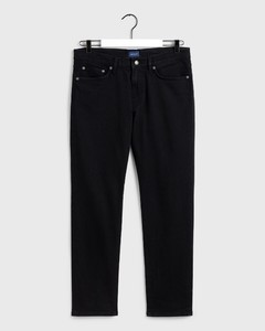 Gant Slim Gant Jeans Black Worn In