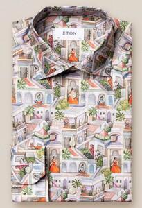 Eton Ragamala Shirt Multicolor