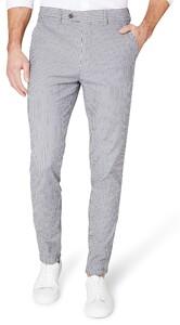 Gardeur Fausto Fashion-Fit Striped Chino Blauw