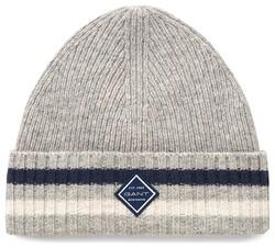 Gant Rib Knit Hat Licht Grijs
