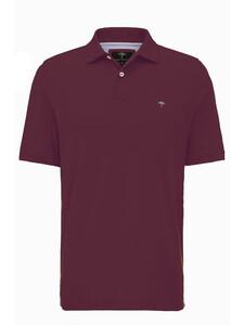 Fynch-Hatton Uni Polo Cotton Merlot