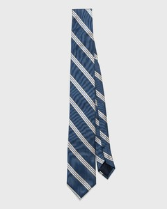 Gant Diagonal Stripe Poseidon Blue