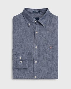Gant Linnen Shirt Persian Blue