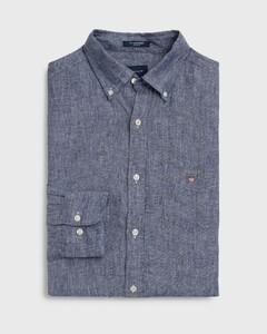 Gant Linnen Shirt Persian Blue