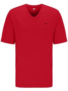 Fynch-Hatton V-Neck T-Shirt Sangria