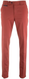 Gardeur Benny-3 Contrasted Pima Cotton Flex Warm Rood