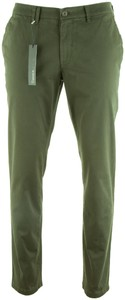 Gardeur Seven Slim-Fit Iconic Khakis Green
