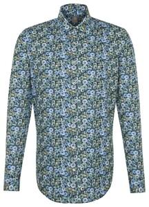 Jacques Britt Floral Fantasy Sky Blue Melange