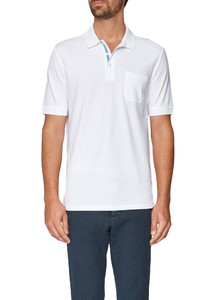 Maerz Polo Single Jersey Pure White