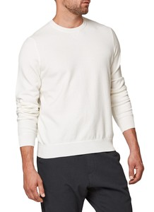 Maerz Round Neck Pullover New White