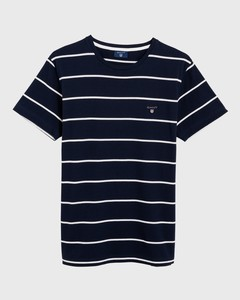 Gant Breton Stripe Avond Blauw