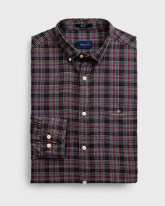 Gant Tech Prep Oxford Check Marine