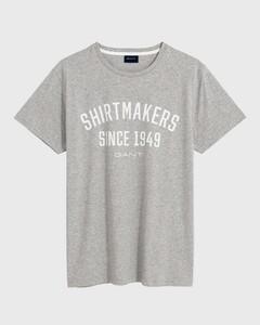 Gant Anniversary T-Shirt Light Grey
