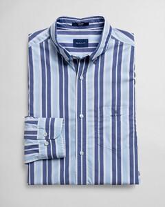 Gant Tech Prep Broadcloth Stripe Capri Blue