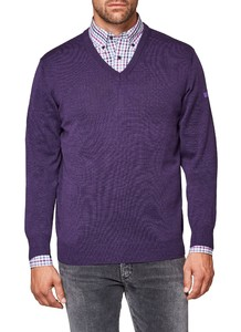Maerz V-Neck Merino Superwash Wisteria