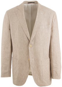 Gant The Summer Linen Jacket Zand