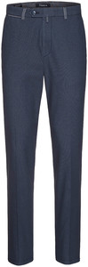 Gardeur Sonny-8 Slim-Fit Structured Flat Front Night Blue