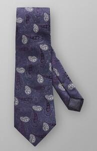 Eton Paisley Woven Tie Midnight Navy
