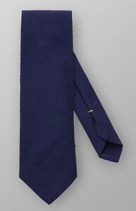 Eton Shantung Cotton Silk Dark Blue Extra Melange