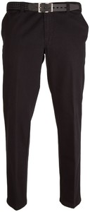 MENS Madrid Comfort-Fit Flat-Front Xtend Jeans Zwart