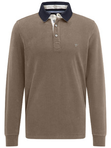 Fynch-Hatton Rugby Plain Shirt Taupe
