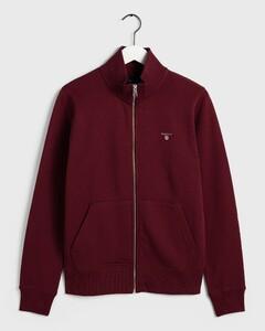 Gant The Original Full Zip Cardigan Port Red