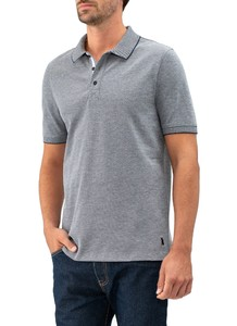 Maerz Polo Single Jersey Navy
