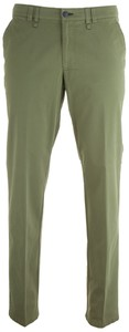 MENS Meran Modern-Fit Contrasted Flat-Front Green