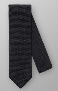 Eton Pointed Tip Knit Dark Blue Extra Melange