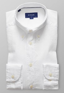 Eton Slim Uni Royal Oxford Wit