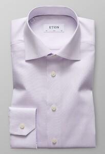 Eton Melange Micro Weave Paars Melange