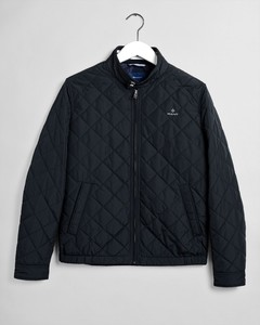 Gant The Quilted Windcheater Zwart