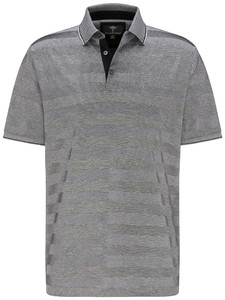 Fynch-Hatton Stripe Mercerized Cotton Zwart