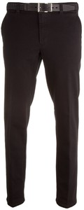MENS Madrid Comfort-Fit Flat-Front Xtend Jeans Black