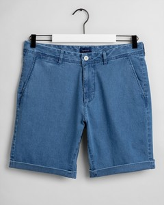 Gant Indigo Shorts Semi Light Indigo Worn In